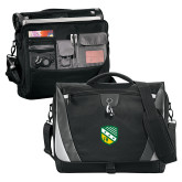 Slope Black/Grey Compu Messenger Bag-Shield