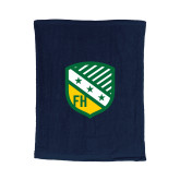 Navy Rally Towel-Shield