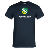 Navy T Shirt-Alumni Design