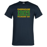 Navy T Shirt-Founders Day