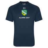 Under Armour Navy Tech Tee-Alumni Design
