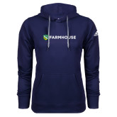 Adidas Climawarm Navy Team Issue Hoodie-Farmhouse Shield