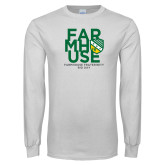 White Long Sleeve T Shirt-Bid Day