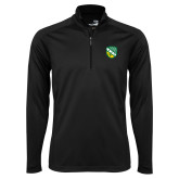 Syntrel Black Interlock 1/4 Zip-Shield