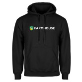 Black Fleece Hoodie-Farmhouse Shield