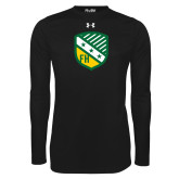 Under Armour Black Long Sleeve Tech Tee-Shield