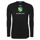 Under Armour Black Long Sleeve Tech Tee-Alumni Design