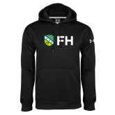 Under Armour Black Performance Sweats Team Hoodie-FH Shield
