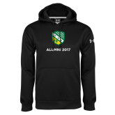 Under Armour Black Performance Sweats Team Hoodie-Alumni Design