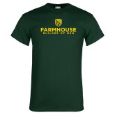 Dark Green T Shirt-Builder Of Men Stacked