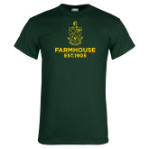 Dark Green T Shirt-Established Year Crest