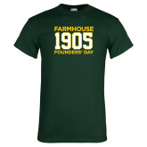 Dark Green T Shirt-Founders Day