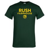 Dark Green T Shirt-Rush Farmhouse