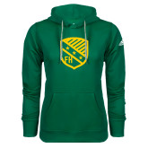 Adidas Climawarm Dark Green Team Issue Hoodie-Shield