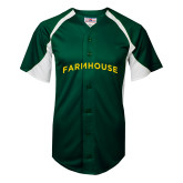 Replica Dark Green Adult Baseball Jersey-Generic