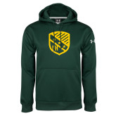 Under Armour Dark Green Performance Sweats Team Hoodie-Shield