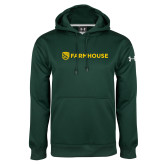 Under Armour Dark Green Performance Sweats Team Hoodie-Farmhouse Shield
