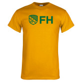 Gold T Shirt-FH Shield