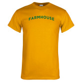 Gold T Shirt-Arched Farmhouse