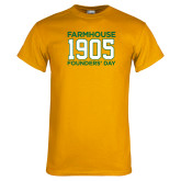 Gold T Shirt-Founders Day