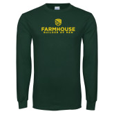 Dark Green Long Sleeve T Shirt-Builder Of Men Stacked