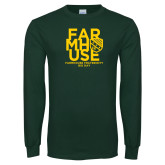 Dark Green Long Sleeve T Shirt-Bid Day