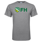 Grey T Shirt-FH Shield