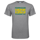 Grey T Shirt-Founders Day
