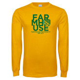 Gold Long Sleeve T Shirt-Bid Day