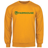 Gold Fleece Crew-Farmhouse Shield