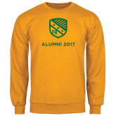 Gold Fleece Crew-Alumni Design