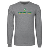 Grey Long Sleeve T Shirt-Builder Of Men Stacked