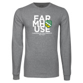 Grey Long Sleeve T Shirt-Bid Day