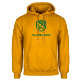 Gold Fleece Hoodie-Alumni Design