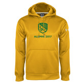 Under Armour Gold Performance Sweats Team Hoodie-Alumni Design