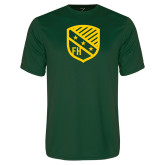 Performance Dark Green Tee-Shield
