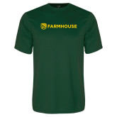 Performance Dark Green Tee-Farmhouse Shield