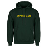 Dark Green Fleece Hood-Farmhouse Shield
