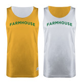 Gold/White Reversible Tank-Generic