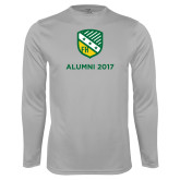 Performance Platinum Longsleeve Shirt-Alumni Design