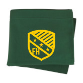 Dark Green Sweatshirt Blanket-Shield