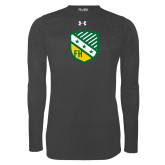 Under Armour Carbon Heather Long Sleeve Tech Tee-Shield