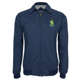 Navy Players Jacket-Crest