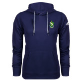 Adidas Climawarm Navy Team Issue Hoodie-Crest
