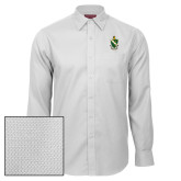 Red House White Diamond Dobby Long Sleeve Shirt-Crest