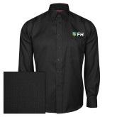 Red House Black Herringbone Long Sleeve Shirt-FH Shield