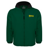 Dark Green Survivor Jacket-FH Shield