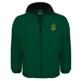 Dark Green Survivor Jacket-Crest