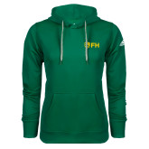 Adidas Climawarm Dark Green Team Issue Hoodie-FH Shield