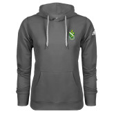Adidas Climawarm Charcoal Team Issue Hoodie-Crest